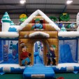 Kids' Obstacle Course with Slide