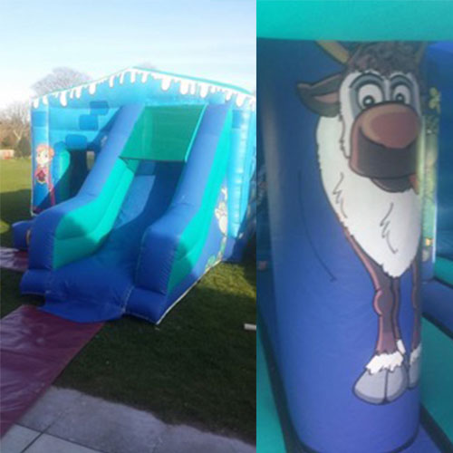 Winter / Frozen Bouncy Castle